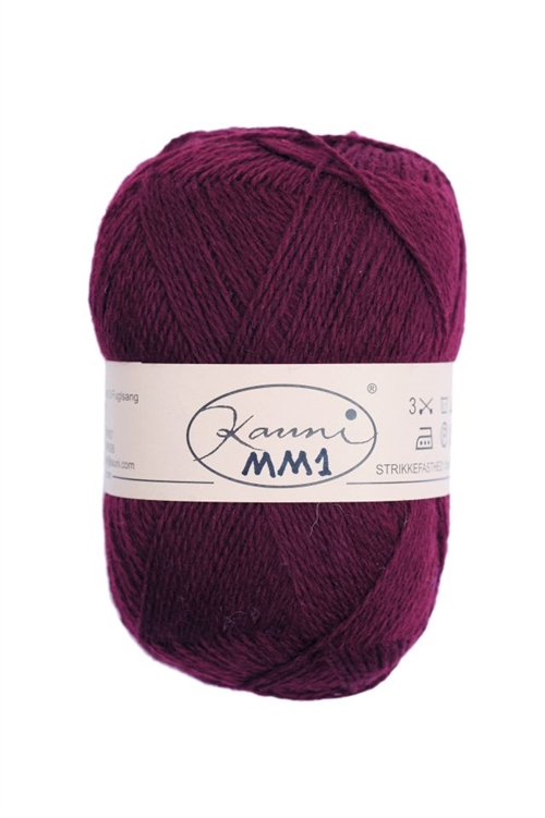 Kauni Bordeaux Mørk MM1
