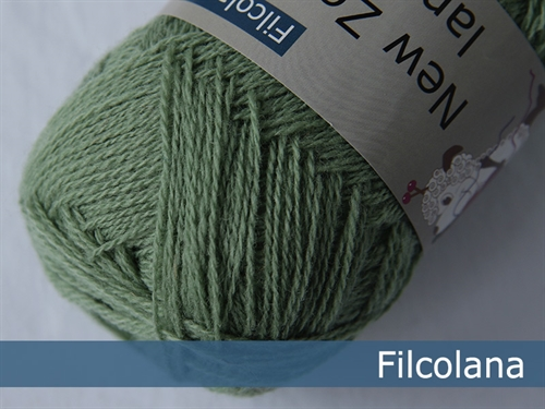 Filcolana New Zealand Lammeuld Mos Grøn