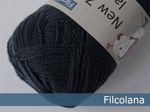 Filcolana New Zealand Lammeuld Mørkeblå 212